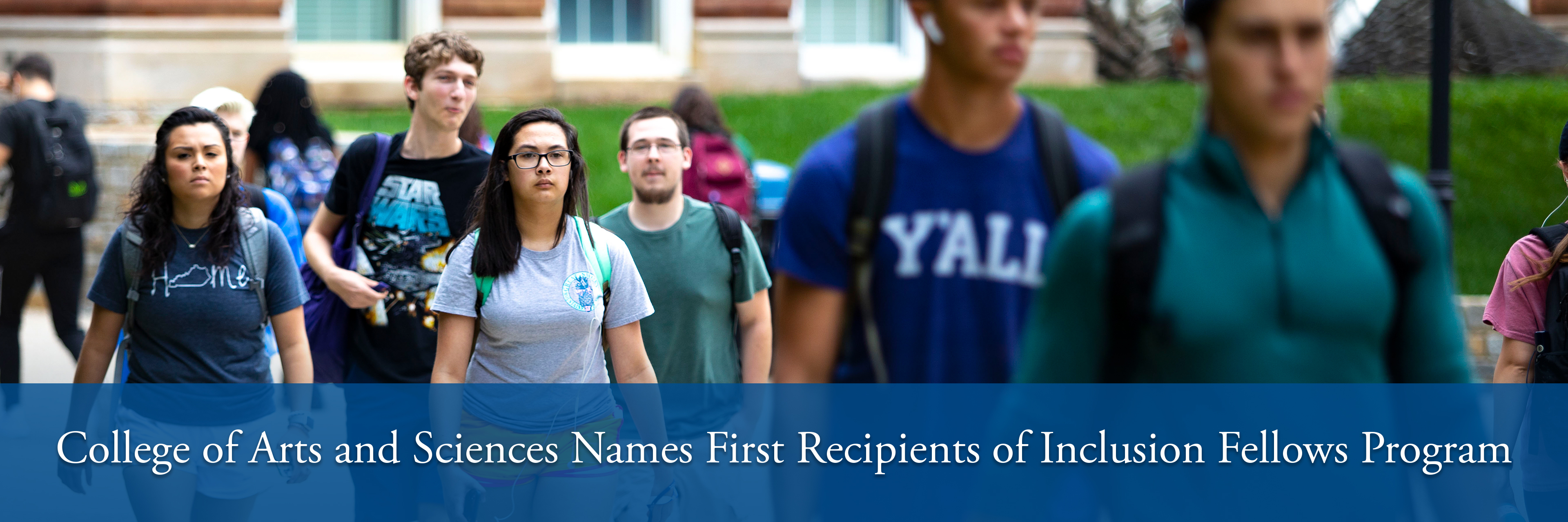 College of Arts and Sciences Names First Recipients of Inclusion